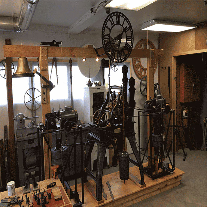 Seth Thomas Tower Clock Restoration by The Tower Clock Company, Phil Wright 937-605-1904